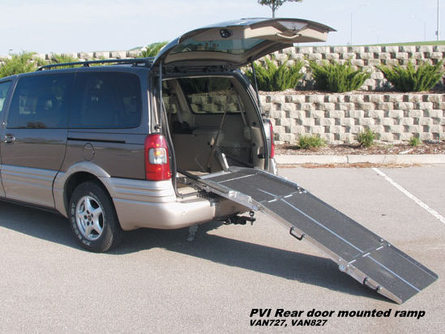 PVI mounted van ramps