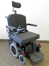Amy Systems all track M3 HD power wheelchair