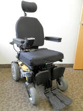 Pride Mobility Quantum Rival power wheelchair