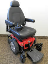 Pride Mobility Jazzy 600es power wheelchair
